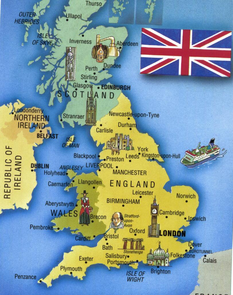 England, Wales, Scotland, Northern Ireland…